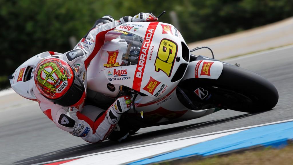 Alvaro Bautista, San Carlo Honda Gresini, Brno Test