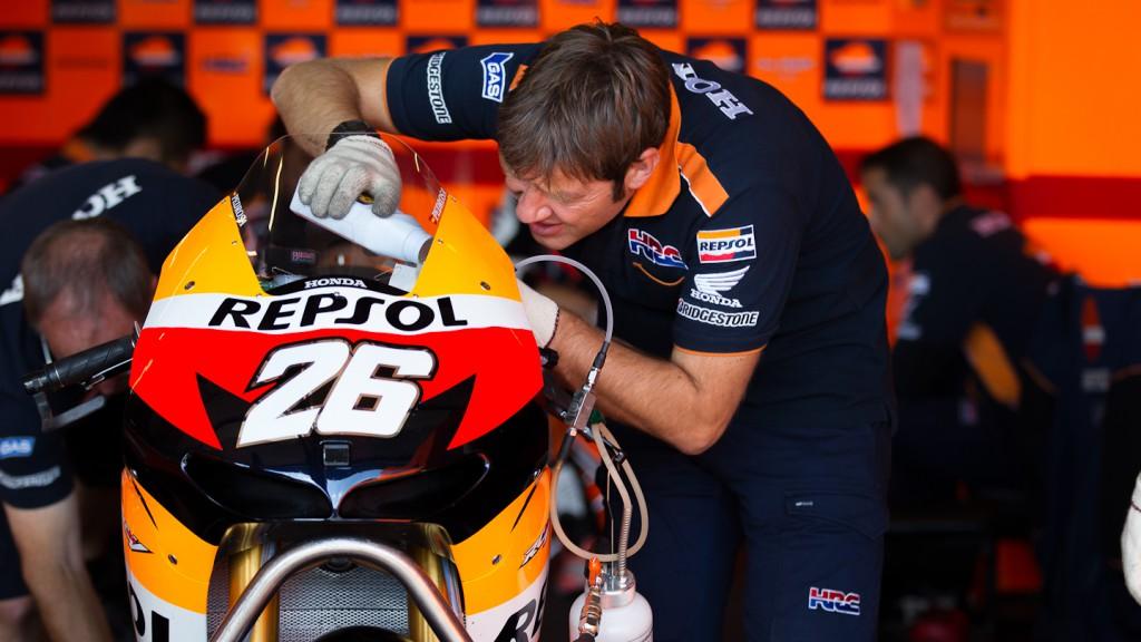 Dani Pedrosa, Repsol Honda Team, Brno Test