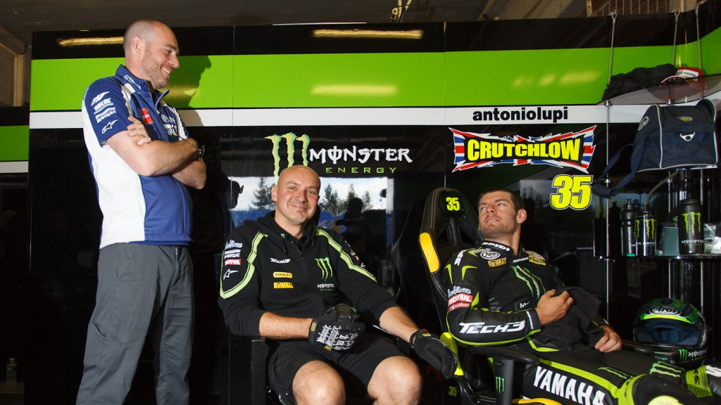 Cal Crutchlow, Monster Yamaha Tech 3, Brno Test