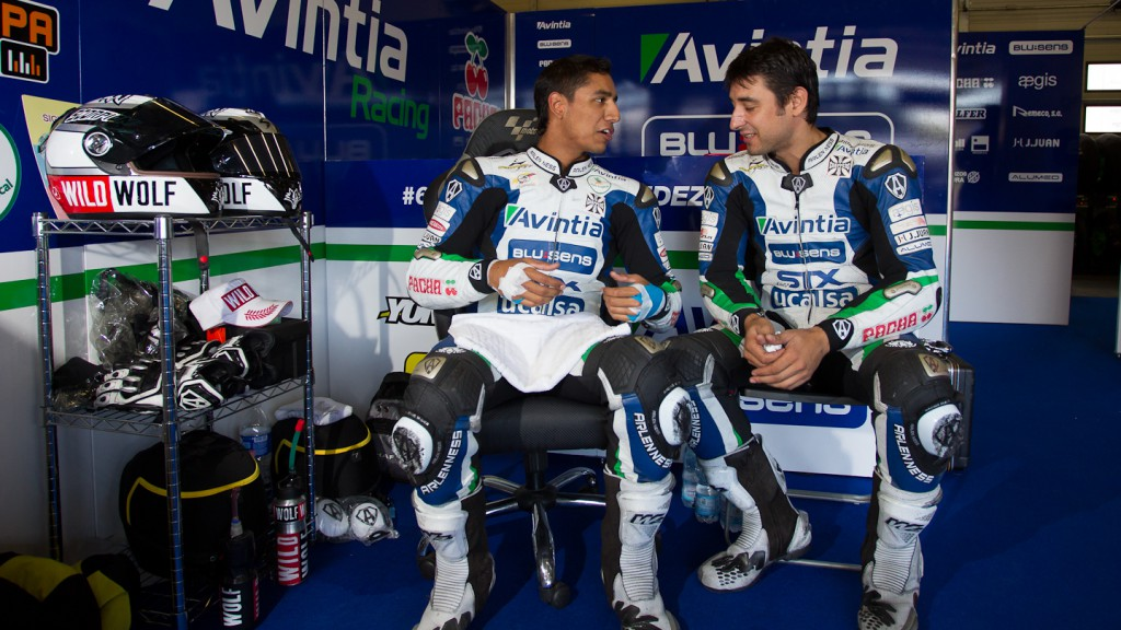 Yonny Hernandez, Ivan Silva, Avintia Blusens, Brno Test