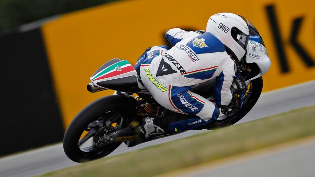 Romano Fenati, Team Italia FMI, Brno RAC
