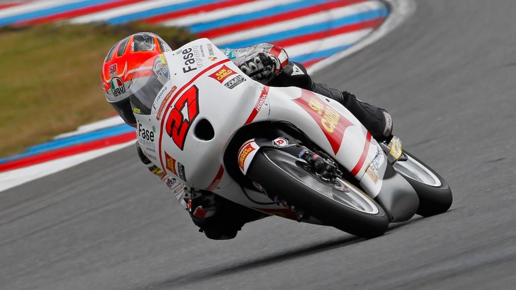 Niccolo Antonelli, San Carlo Gresini Moto3, Brno RAC