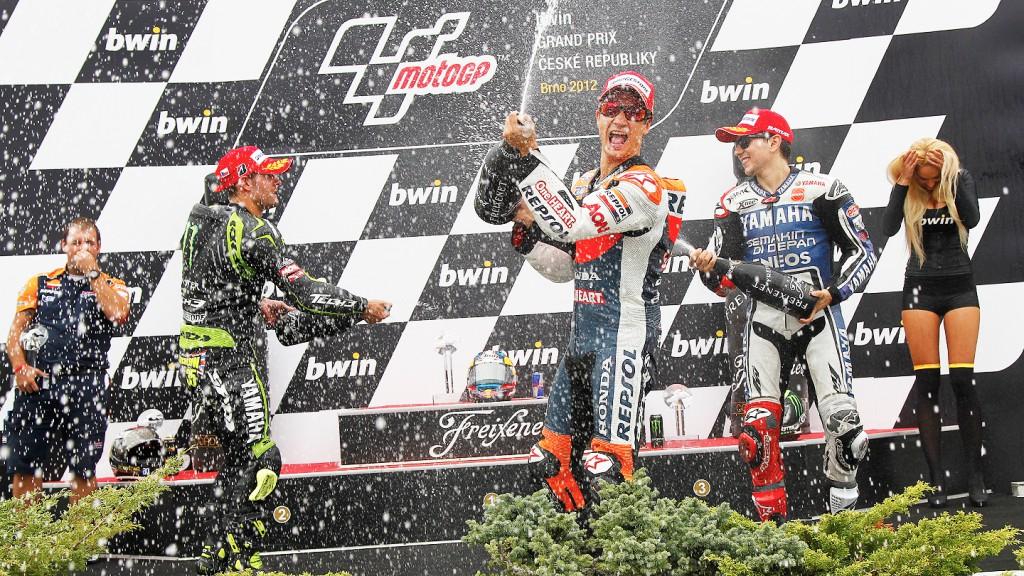 Lorenzo, Pedrosa, Crutchlow, Yamaha Factory Racing, Repsol Honda Team, Monster Yamaha Tech 3, Brno RAC
