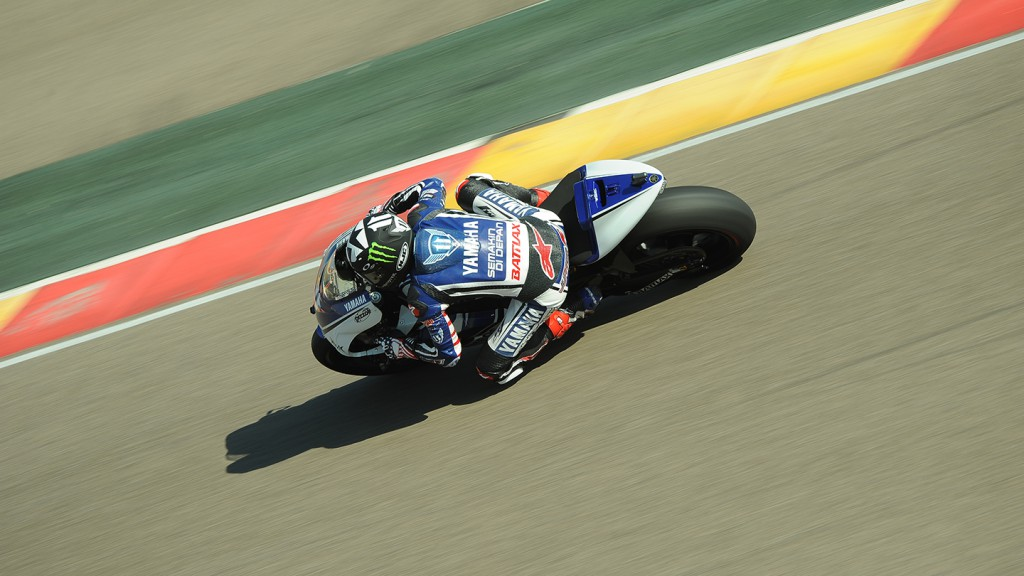 Ben Spies, Yamaha Factory Racing - Aragon MotoGP Test