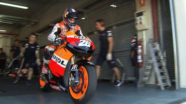 2012 - MotoGP - Test Aragon - Highlights