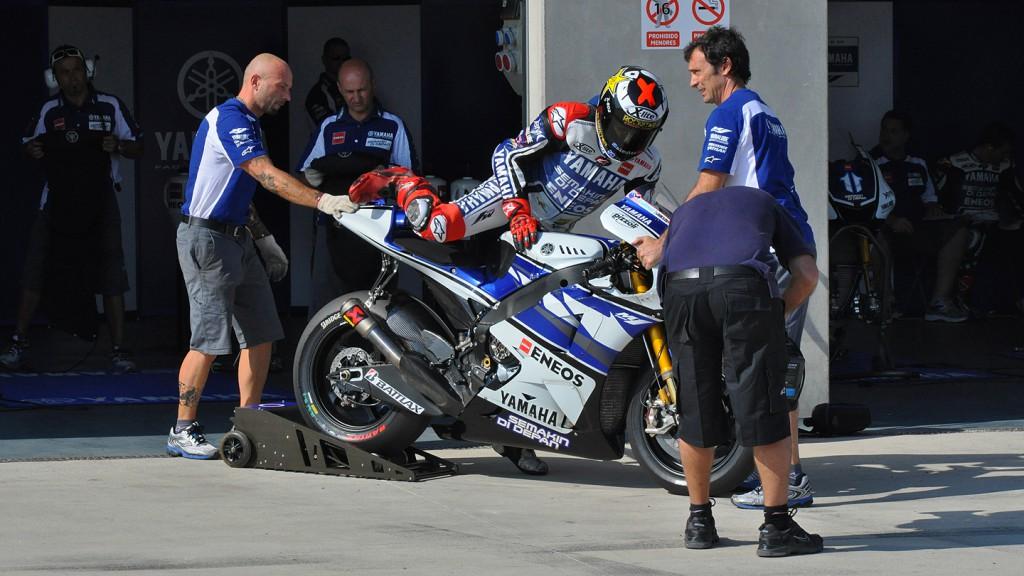 Jorge Lorenzo, Yamaha Factory Racing - Aragon MotoGP Test
