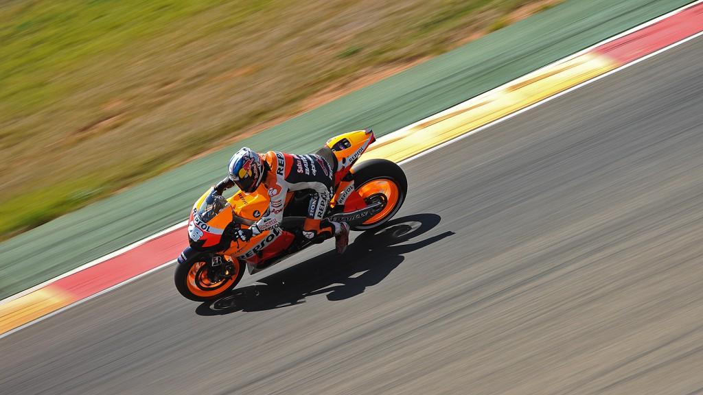 Dani Pedrosa, Repsol Honda Team - Aragon MotoGP Test  © Copyright Álvaro Villa