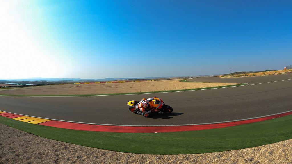 Jonathan Rea, Repsol Honda Team - Aragon MotoGP Test  © Copyright Álvaro Villa