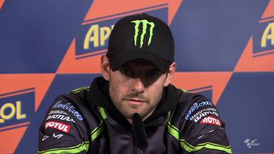 Podium is possible in Misano for Crutchlow