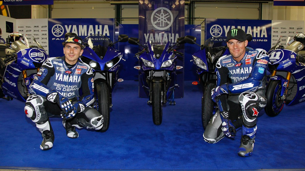 Yamaha Factory Racing Special Race-Blu Livery, Misano