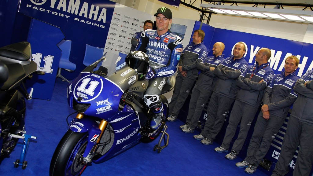 Ben Spies, Yamaha Factory Racing, Misano