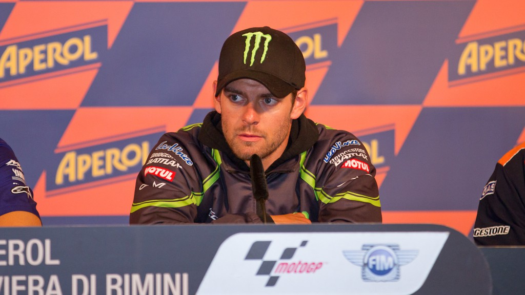 Cal Crutchlow, Monster Yamaha Tech 3, Misano