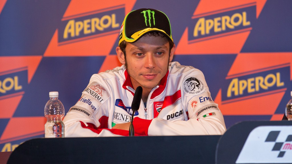 Valentino Rossi, Ducati Team, Misano Press Conference