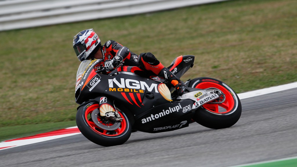 Colin Edwards, NGM Mobile Forward Racing, Misano FP1