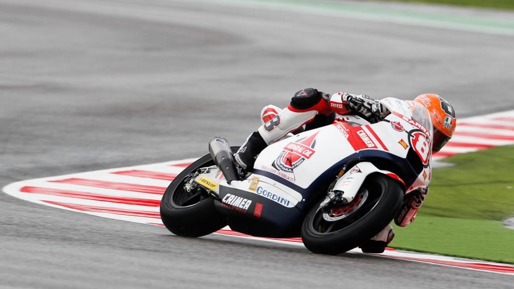 Gino Rea, Federal Oil Gresini Moto2, Misano FP2