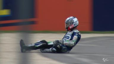 Misano 2012 - MotoGP - FP2 - Action - Yonny Hernandez - Crash