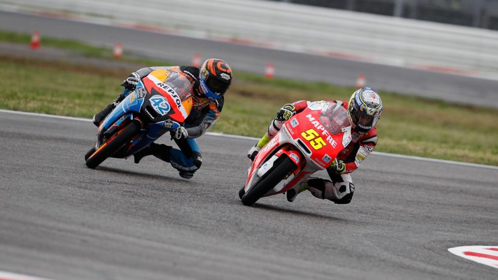 Alex Rins, Hector Faubel, Estrella Galicia 0,0, Mapfre Aspar Team Moto3, Misano FP1