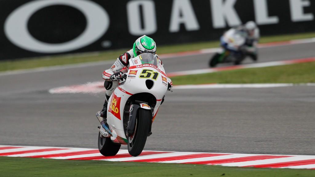 Michele Pirro, San Carlo Honda Gresini, Misano FP1