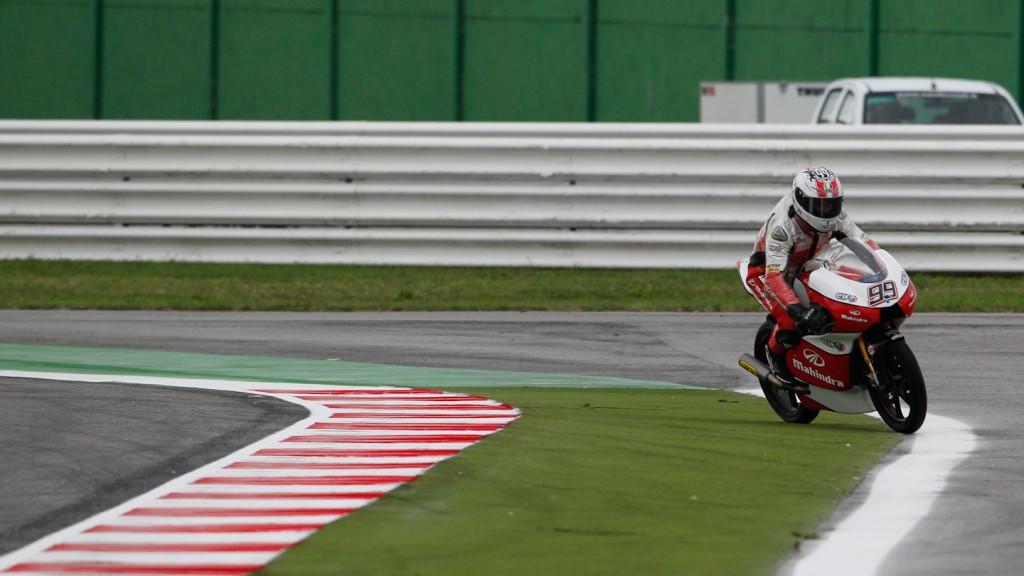 Danny Webb, Mahindra Racing, Misano FP1