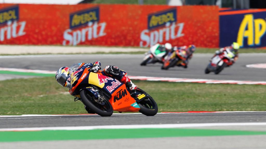 Sandro Cortese, Red Bull KTM Ajo, Misano QP