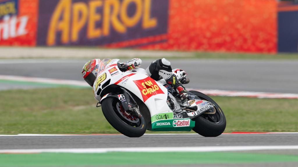 Alvaro Bautista, San Carlo Honda Gresini, Misano FP3