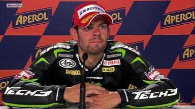 Misano 2012 - MotoGP - QP - Interview - Cal Crutchlow