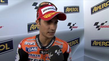 Pedrosa on important front spot