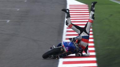 Misano 2012 - Moto3 - FP3 - Action - Jack Miller - Crash