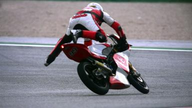 Misano 2012 - Moto3 - FP3 - Action - Danny Webb - Crash