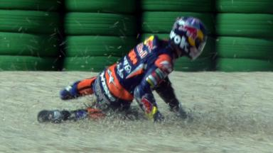 Misano 2012 - Moto3 - FP3 - Action - Danny Kent - Crash
