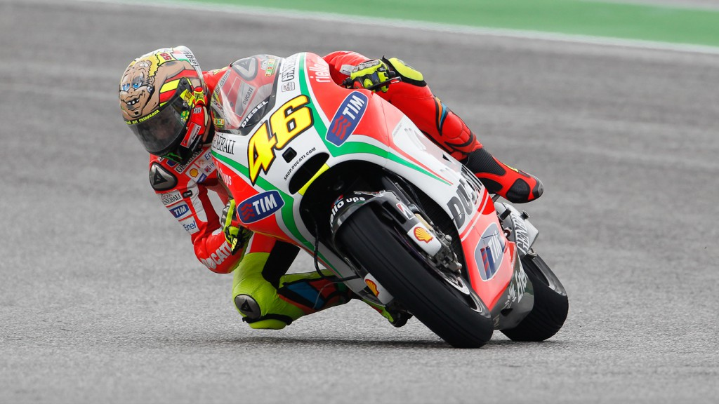Valentino Rossi, Ducati Team, Misano FP3