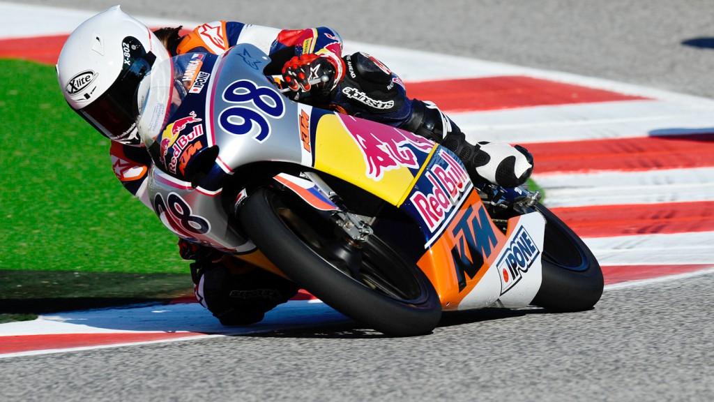 Karel Hanika, Red Bull MotoGP Rookies Cup, Misano RAC