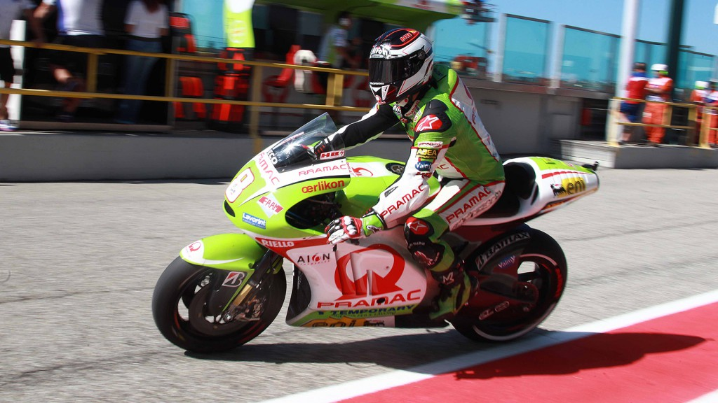 Hector Barbera, Pramac Racing Team, Misano QP