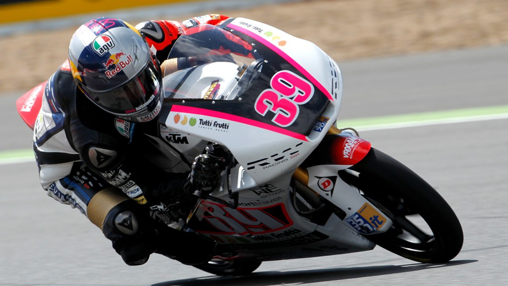 Luis Salom, RW Racing GP, Misano QP