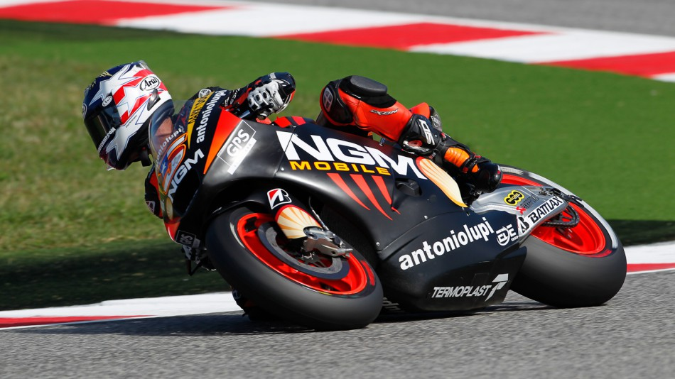 Colin Edwards, NGM Mobile Forward Racing, Misano RAC