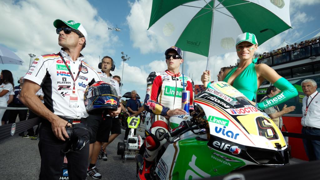 Stefan Bradl, LCR Honda MotoGP, Misano RAC - © Copyright Alex Chailan & David Piolé