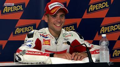 Misano 2012 - MotoGP - Race - Interview - Alvaro Bautista