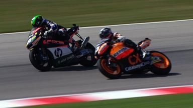 Misano 2012 - Moto2 - Race - Action - Last lap