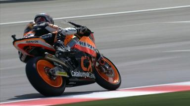 Misano 2012 - Moto2 - Race - Action - Marc Marquez