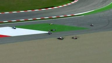 Misano 2012 - Moto3 - Race - Action - Multiple Crash