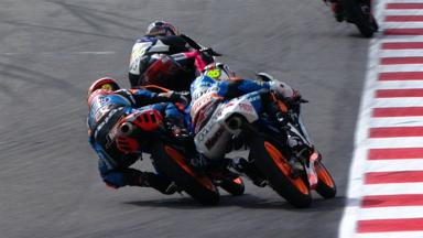 Misano 2012 - Moto3 - Race - Action - Viñales and Rins