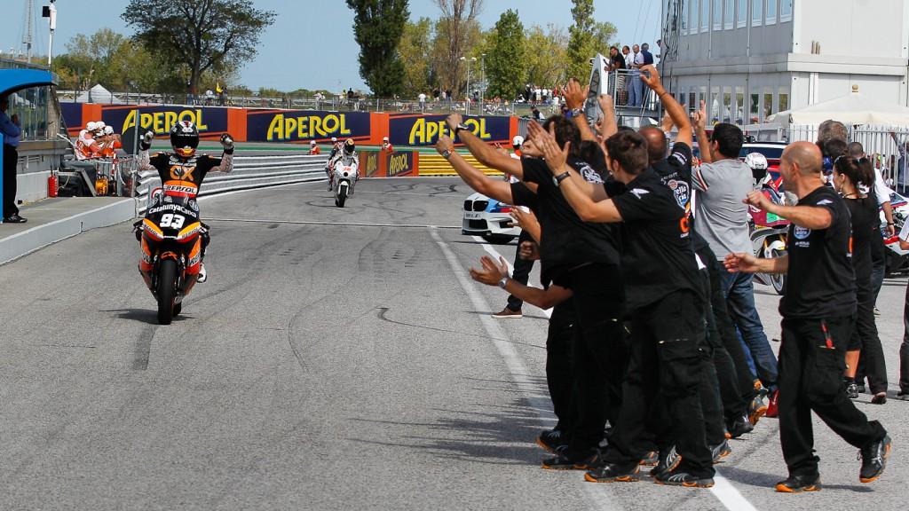 Marc Marquez, Team CatalunyaCaixa Repsol, Misano RAC