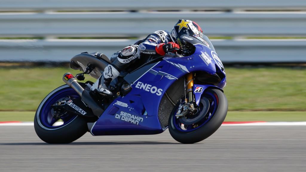 Jorge Lorenzo, Yamaha Factory Racing, Misano WUP