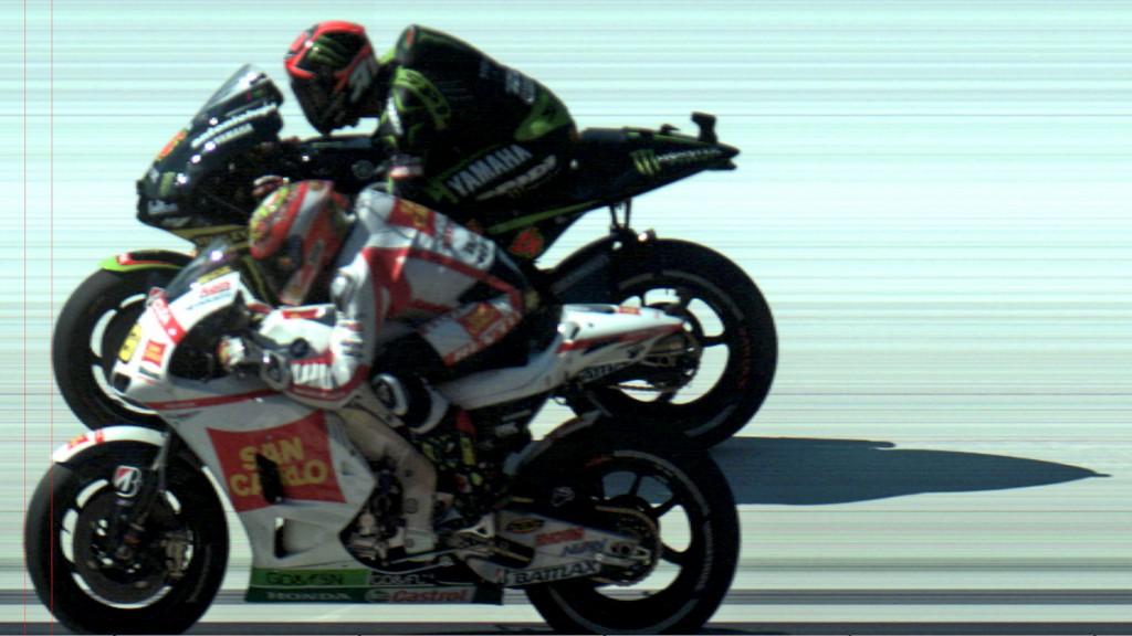 Alvaro Bautista, Andrea Dovizioso, Photofinish MotoGP Misano RAC