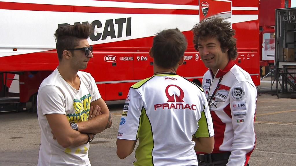 Andrea Iannone, Ducati Test, Misano
