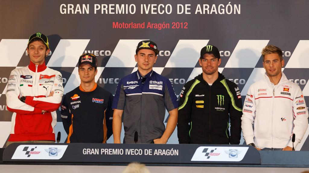 Gran Premio Iveco de Aragon Press Conference