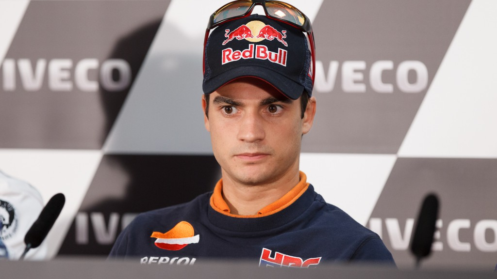 Dani Pedrosa, Repsol Honda Team, Gran Premio de Aragón Press Conference