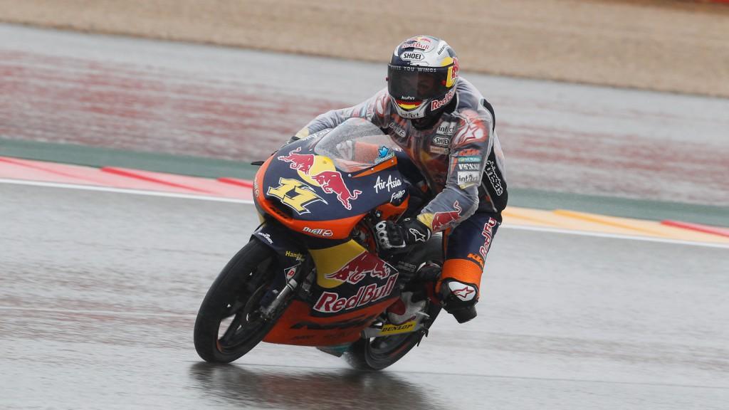Sandro Cortese, Red Bull KTM Ajo, Aragón FP2