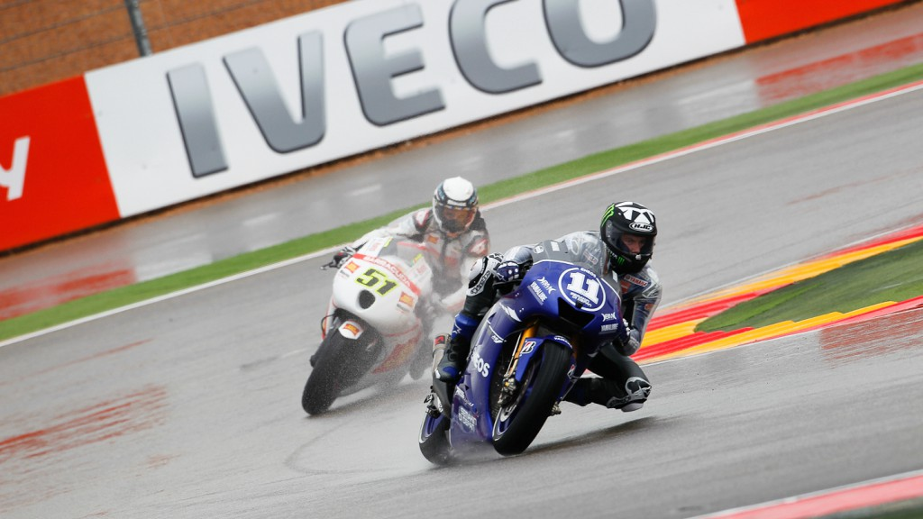 Ben Spies, Yamaha Factory Racing, Aragón FP2
