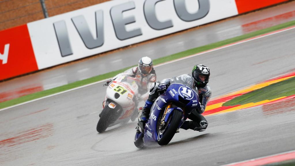 Ben Spies, Yamaha Factory Racing, Aragón FP2